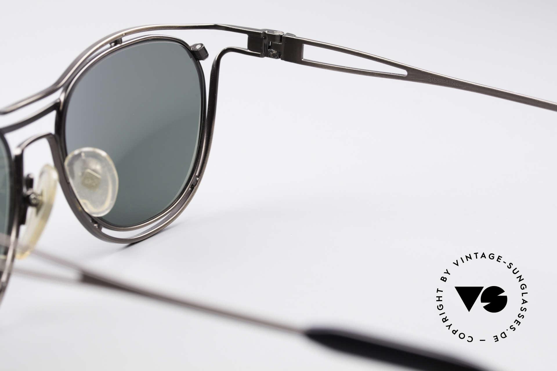 Jean Paul Gaultier 56-2176 Rare Designer Sonnenbrille, KEINE RETRObrille; sondern ein Original von 1994, Passend für Herren und Damen