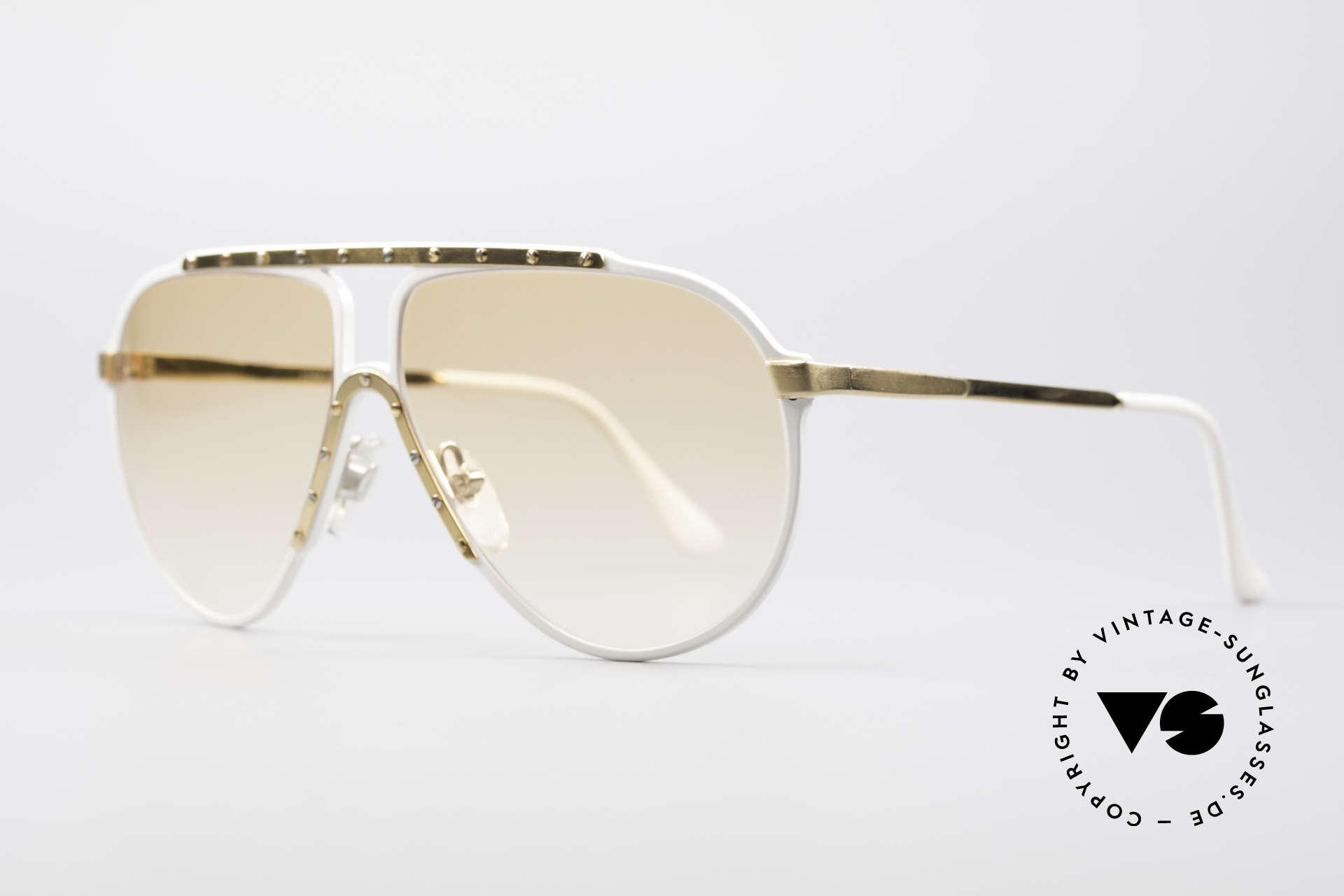 Alpina M1 80er Jahre Kultsonnenbrille, Top-Qualität (Handarbeit; made in W.Germany), Passend für Herren und Damen