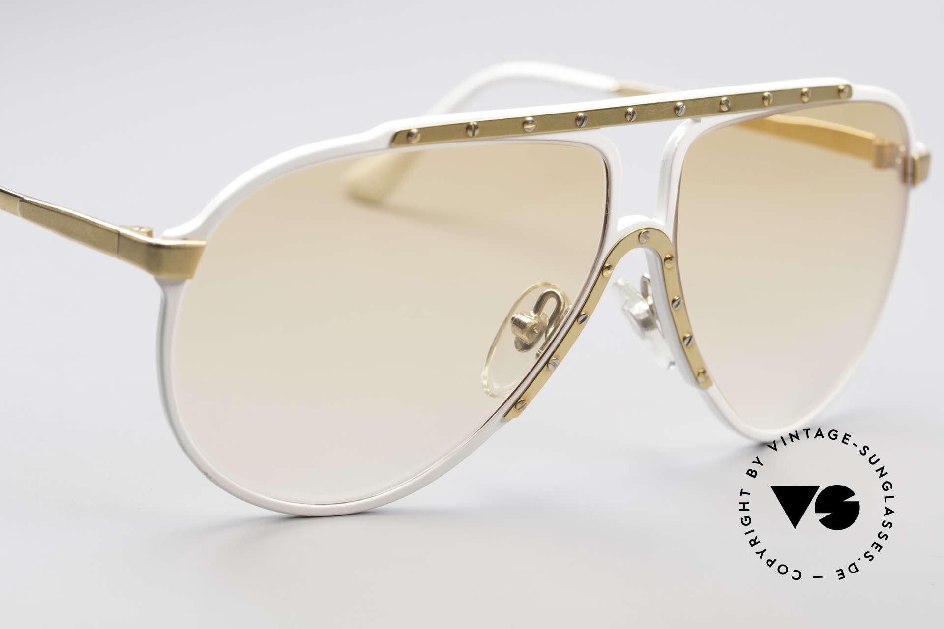 Alpina M1 80er Jahre Kultsonnenbrille, eine der meistgesuchten vintage Sonnenbrillen, Passend für Herren und Damen