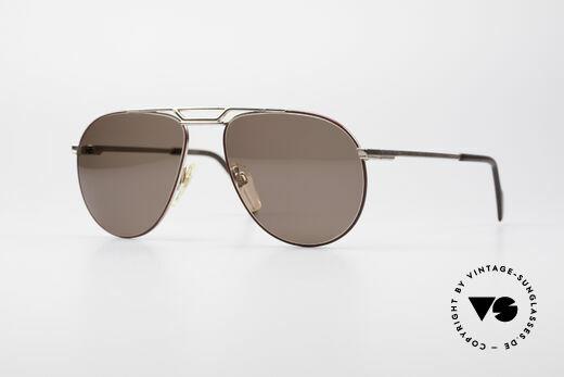 Metzler 0876 80er Aviator Sonnenbrille Details