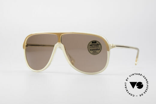 Metzler 0100 Rare Vintage Sonnenbrille Details