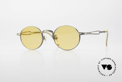 Jean Paul Gaultier 55-7107 Runde Vintage Sonnenbrille Details