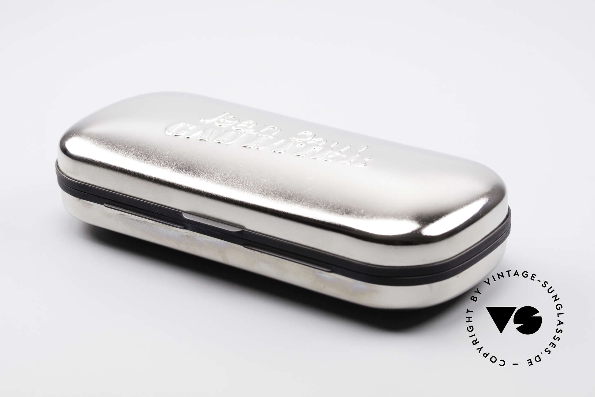Jean Paul Gaultier 55-2177 Vergoldete Designer Fassung, Größe: small, Passend für Herren und Damen