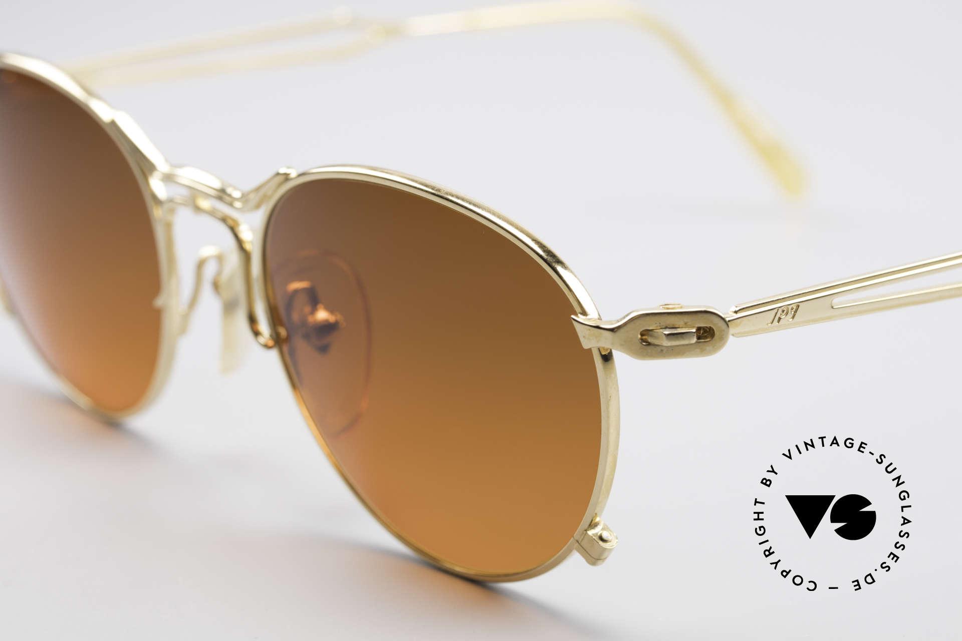 Jean Paul Gaultier 55-2177 Vergoldete Designer Fassung, absolute TOP-Qualität der Materialien & Verarbeitung, Passend für Herren und Damen