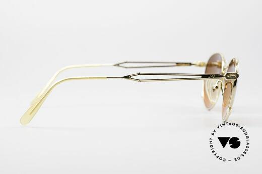 Jean Paul Gaultier 55-2177 Vergoldete Designer Fassung