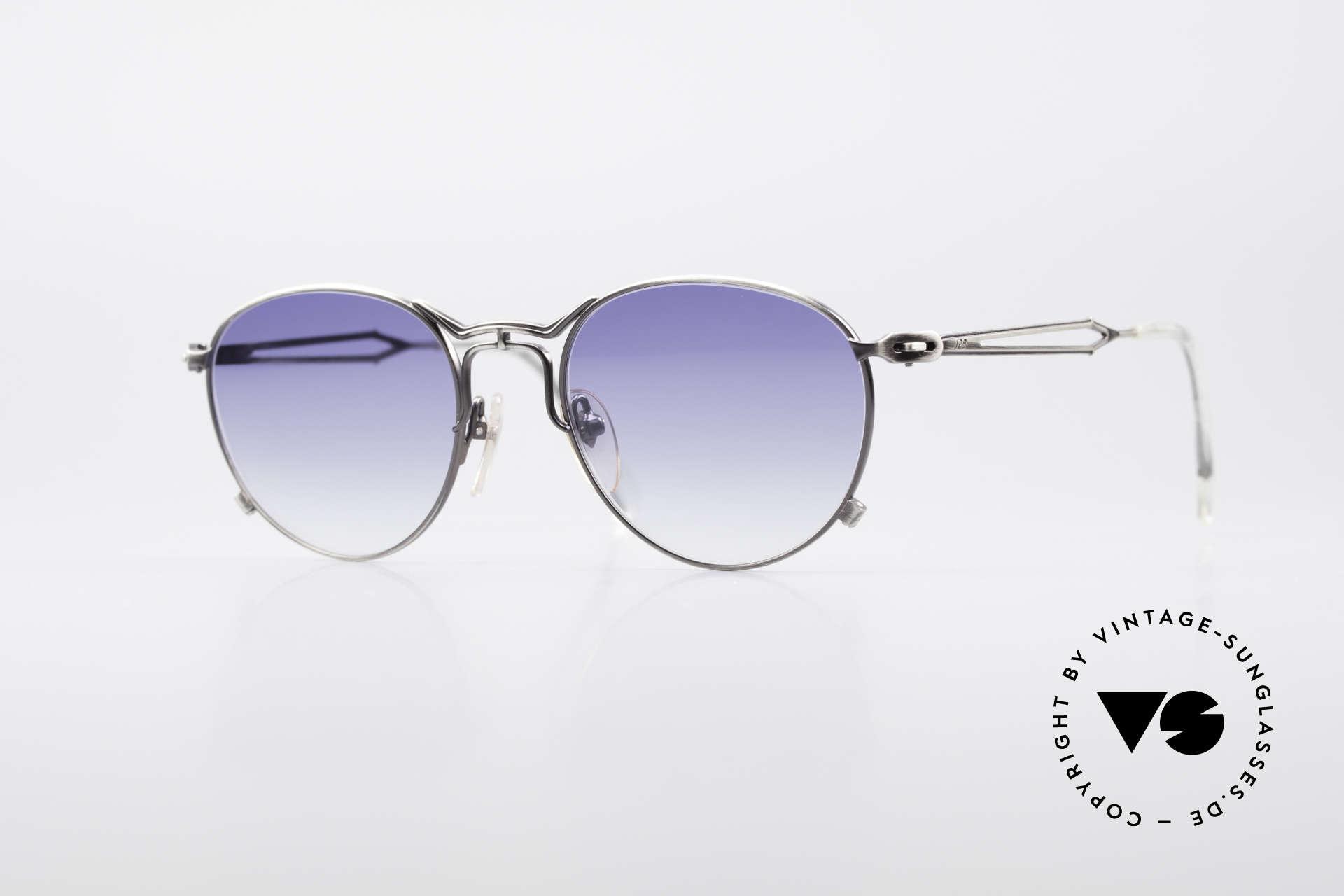 Jean Paul Gaultier 55-2177 Rare Designer Sonnenbrille, außergewöhnliche vintage J.P.G Designersonnenbrille, Passend für Herren und Damen