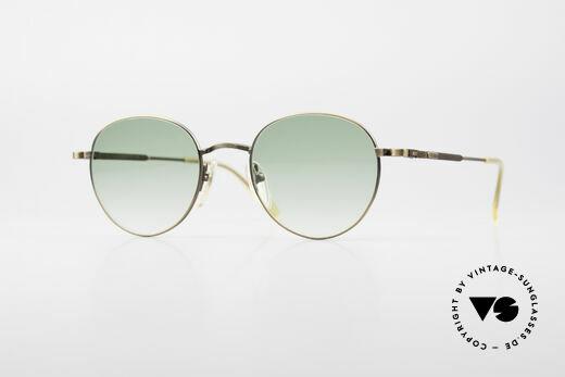 Jean Paul Gaultier 55-1174 Runde Vintage Sonnenbrille Details