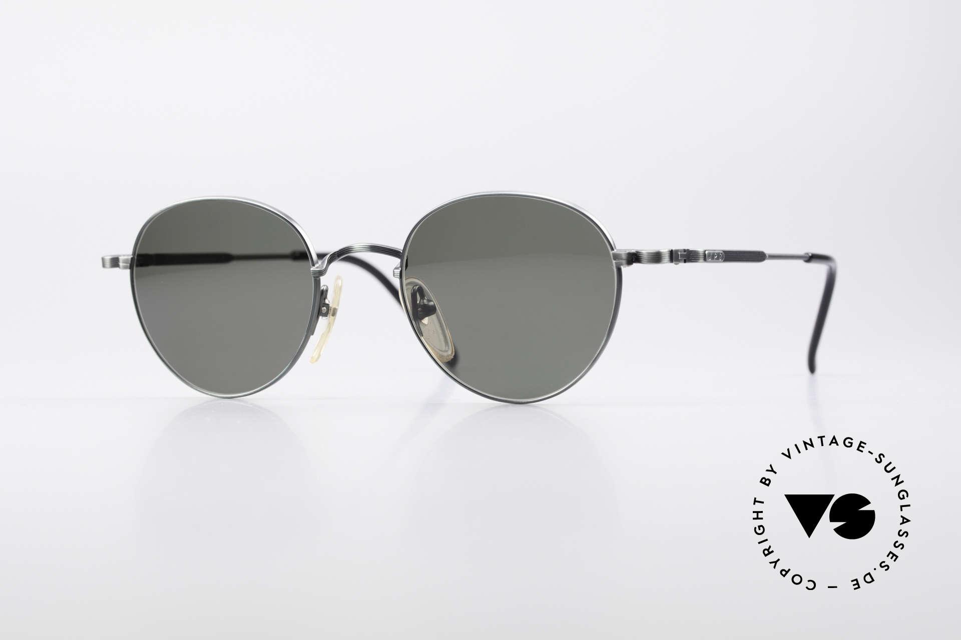 Jean Paul Gaultier 55-1174 Runde Designer Sonnenbrille, runde vintage Designersonnenbrille von JP GAULTIER, Passend für Herren und Damen