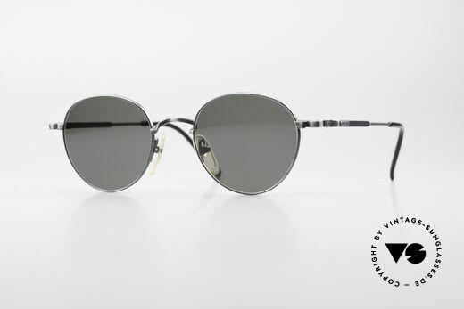 Jean Paul Gaultier 55-1174 Runde Designer Sonnenbrille Details