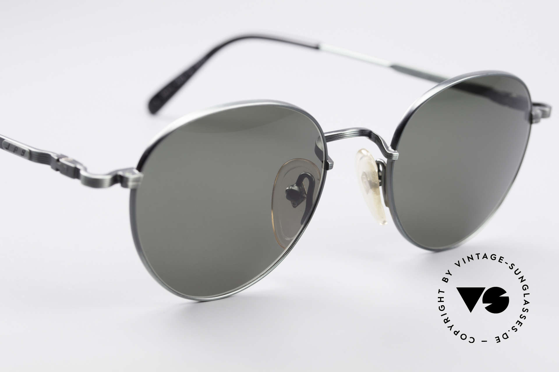 Jean Paul Gaultier 55-1174 Runde Designer Sonnenbrille, ungetragen (wie alle unsere vintage GAULTIER Brillen), Passend für Herren und Damen