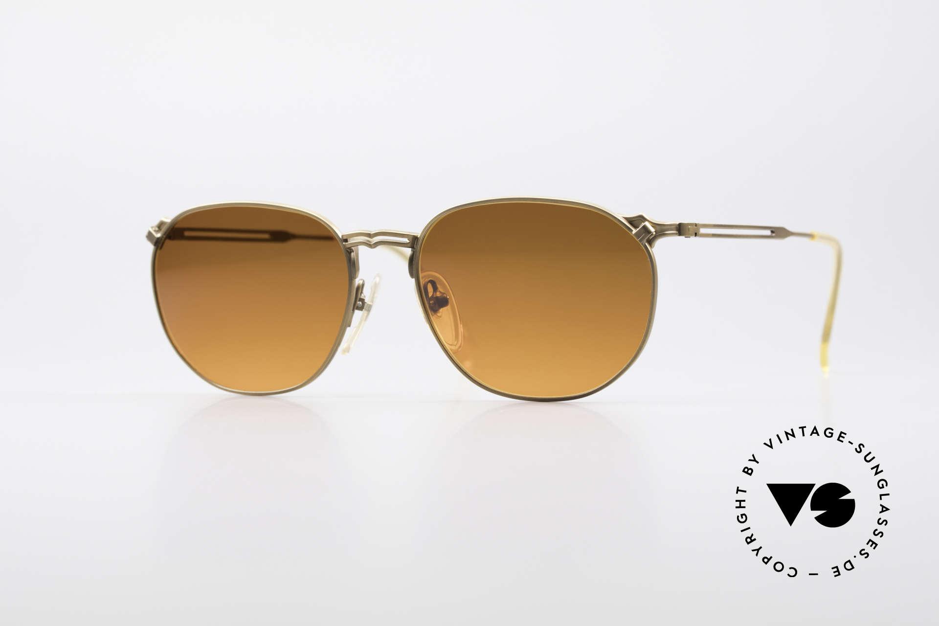 Jean Paul Gaultier 55-2173 90er Designer Sonnenbrille, interessante vintage GAULTIER Designersonnenbrille, Passend für Herren und Damen