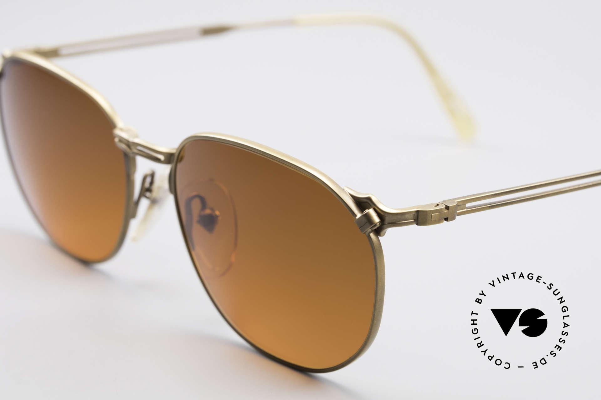 Jean Paul Gaultier 55-2173 90er Designer Sonnenbrille, absolute TOP-Qualität der Materialien & Verarbeitung, Passend für Herren und Damen