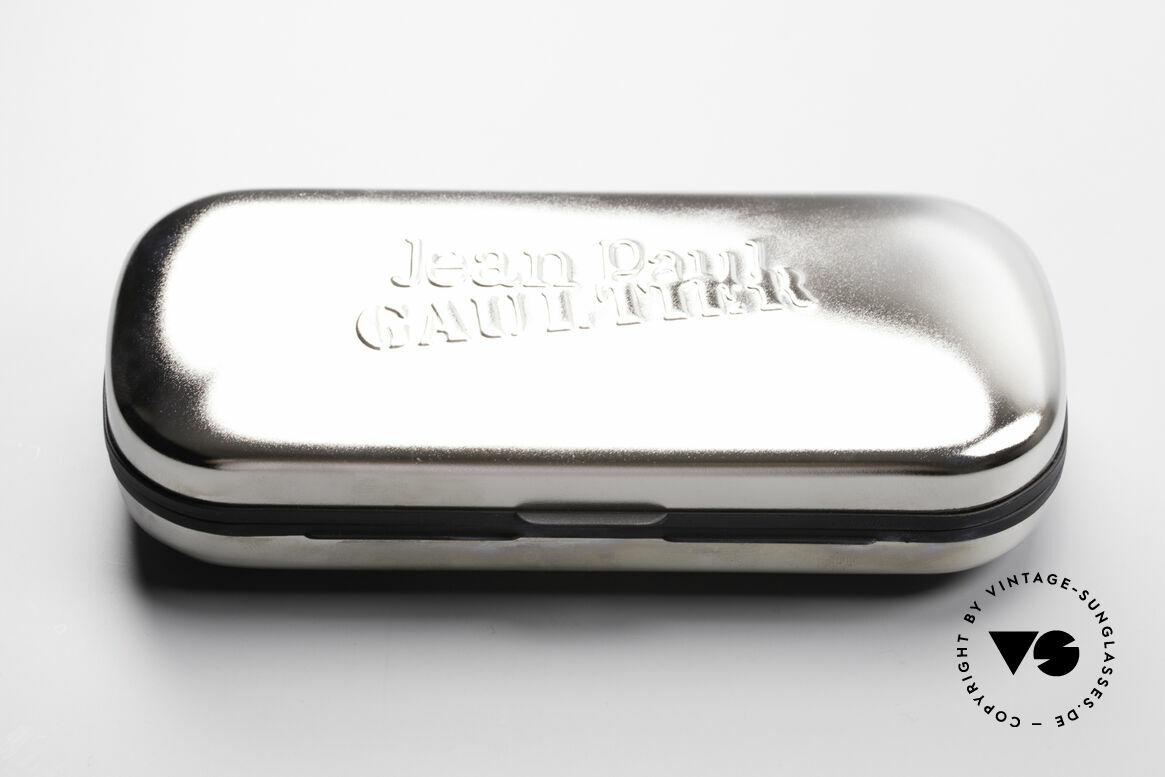 Jean Paul Gaultier 55-2173 Vergoldete Designerbrille, Größe: medium, Passend für Herren und Damen