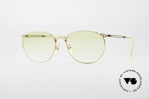 Jean Paul Gaultier 55-2173 Vergoldete Designerbrille Details