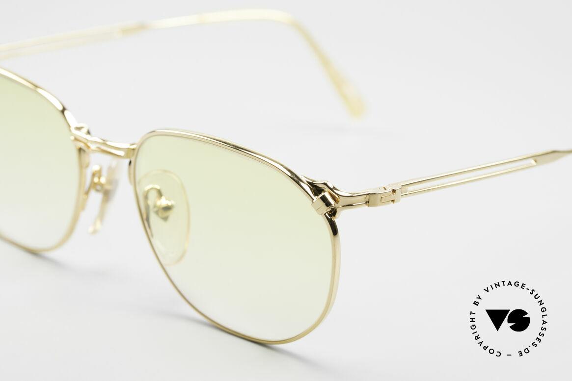 Jean Paul Gaultier 55-2173 Vergoldete Designerbrille, absolute TOP-Qualität der Materialien & Verarbeitung, Passend für Herren und Damen