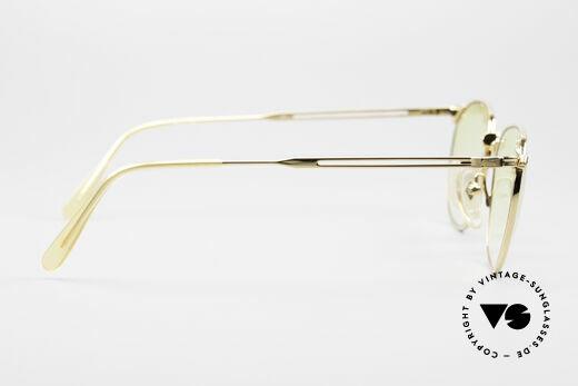 Jean Paul Gaultier 55-2173 Vergoldete Designerbrille, KEINE RETRObrille; ein kostbares ORIGINAL von 1996, Passend für Herren und Damen