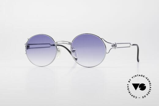 Jean Paul Gaultier 57-6102 Runde 90er Designerbrille Details