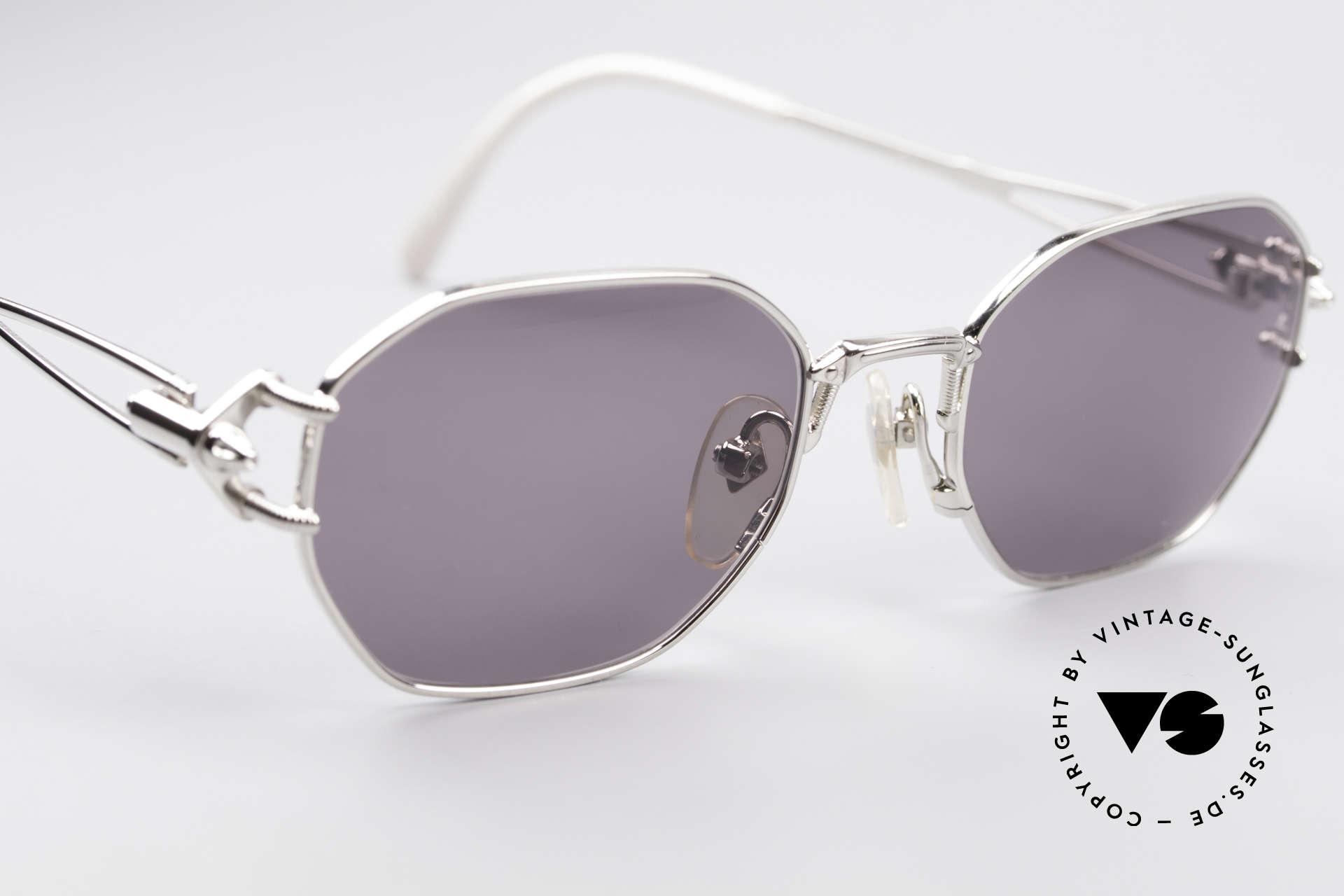 Jean Paul Gaultier 55-6106 90er Vintage Sonnenbrille, nie getragen (wie alle unsere alten JPG Sonnenbrillen), Passend für Herren und Damen