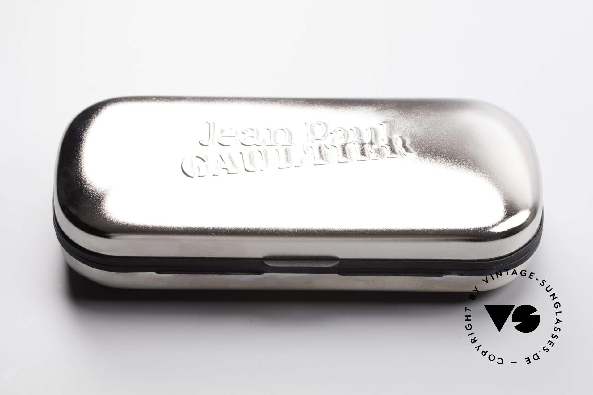 Jean Paul Gaultier 55-6106 90er Designer Sonnenbrille, Größe: small, Passend für Herren und Damen