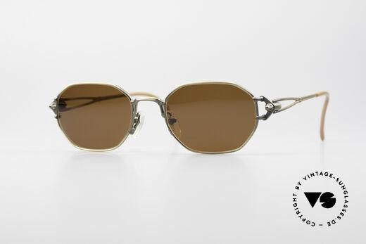 Jean Paul Gaultier 55-6106 90er Designer Sonnenbrille Details