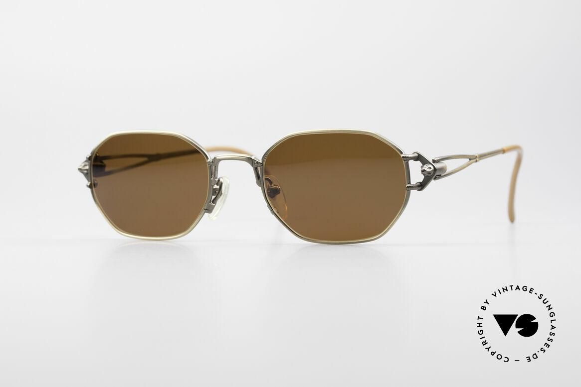Jean Paul Gaultier 55-6106 90er Designer Sonnenbrille, kostbare Jean Paul Gaultier Sonnenbrille von ca. 1994, Passend für Herren und Damen