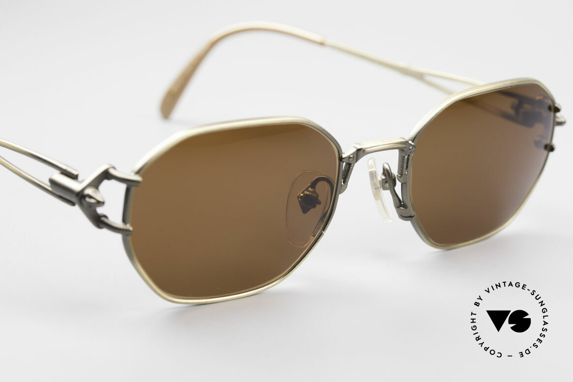 Jean Paul Gaultier 55-6106 90er Designer Sonnenbrille, nie getragen (wie alle unsere alten JPG Sonnenbrillen), Passend für Herren und Damen