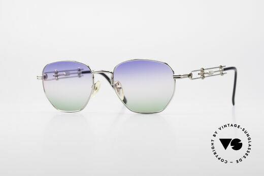 Jean Paul Gaultier 55-4174 Einstellbare Vintage Brille Details
