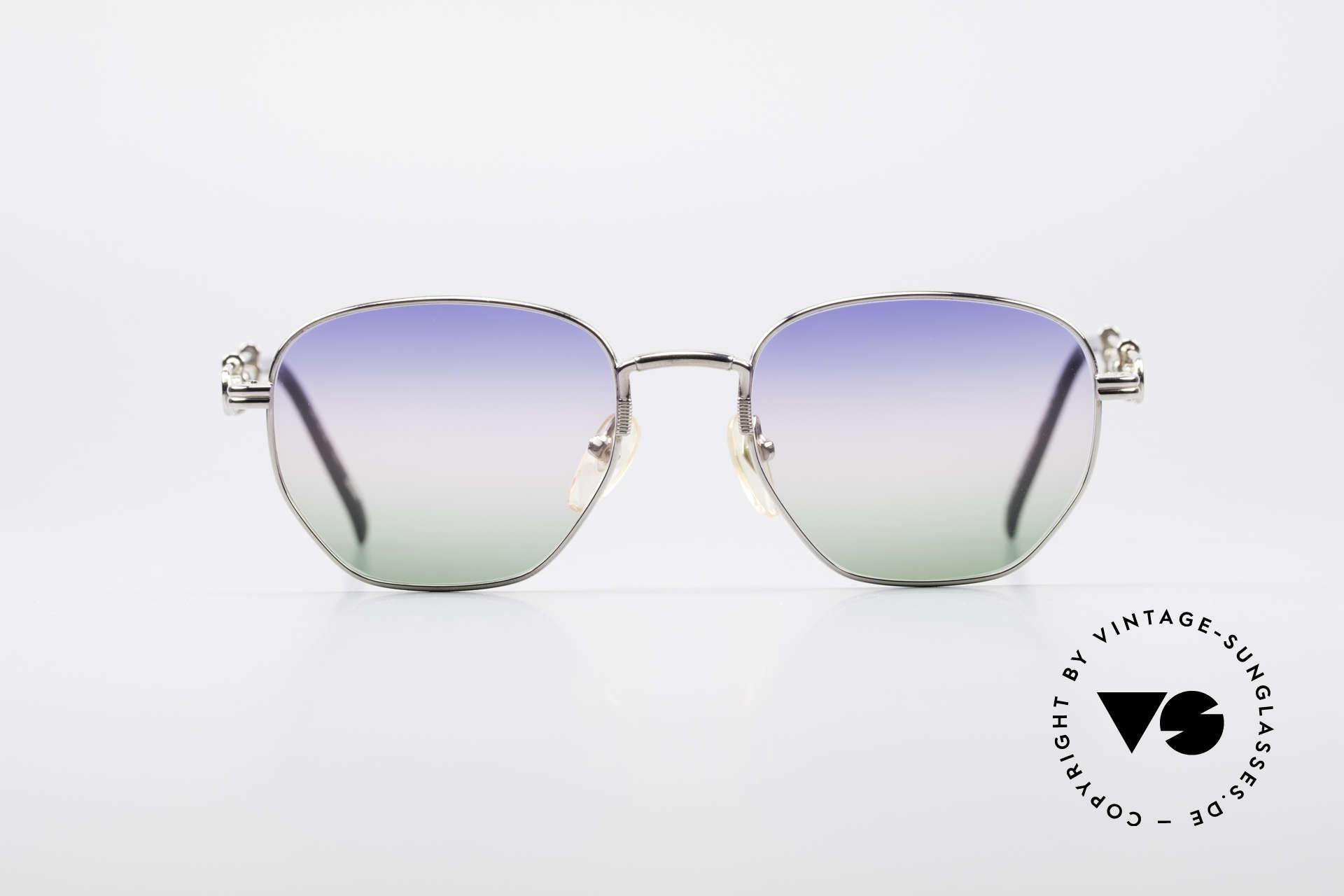 Jean Paul Gaultier 55-4174 Einstellbare Vintage Brille, variable Bügellänge für Top-Passform; genial praktisch, Passend für Herren und Damen