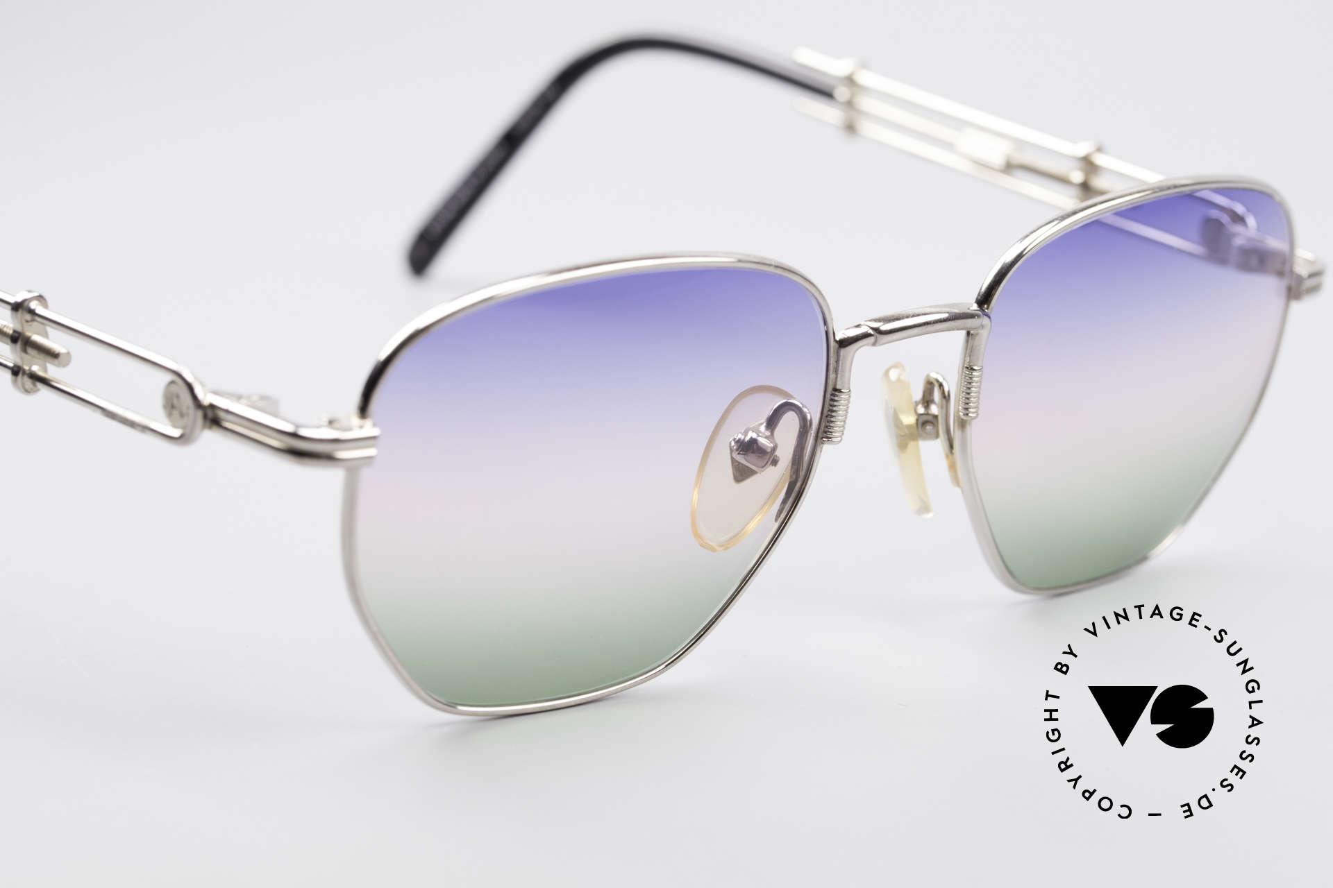 Jean Paul Gaultier 55-4174 Einstellbare Vintage Brille, ungetragen und inzwischen ein kostbares Sammlerstück, Passend für Herren und Damen