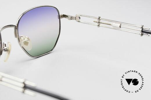 Jean Paul Gaultier 55-4174 Einstellbare Vintage Brille, KEINE Retro-Sonnenbrille; ein 25 Jahre altes ORIGINAL, Passend für Herren und Damen