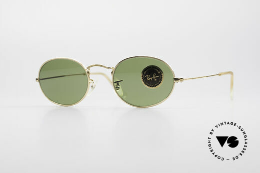 Ray Ban Classic Style I Ovale B&L USA Sonnenbrille Details