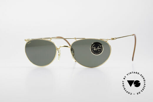 Ray Ban Deco Metals Oval B&L USA 90er Sonnenbrille Details