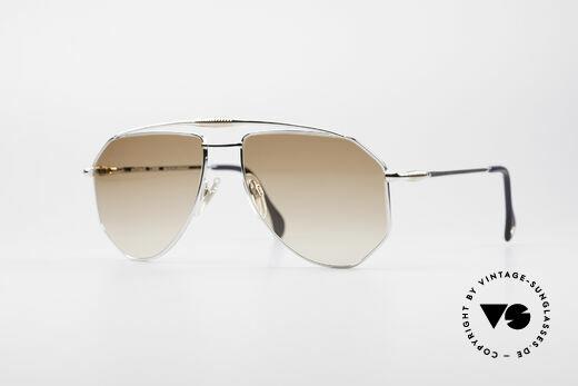 Zollitsch Cadre 120 Large 80er Sonnenbrille Details