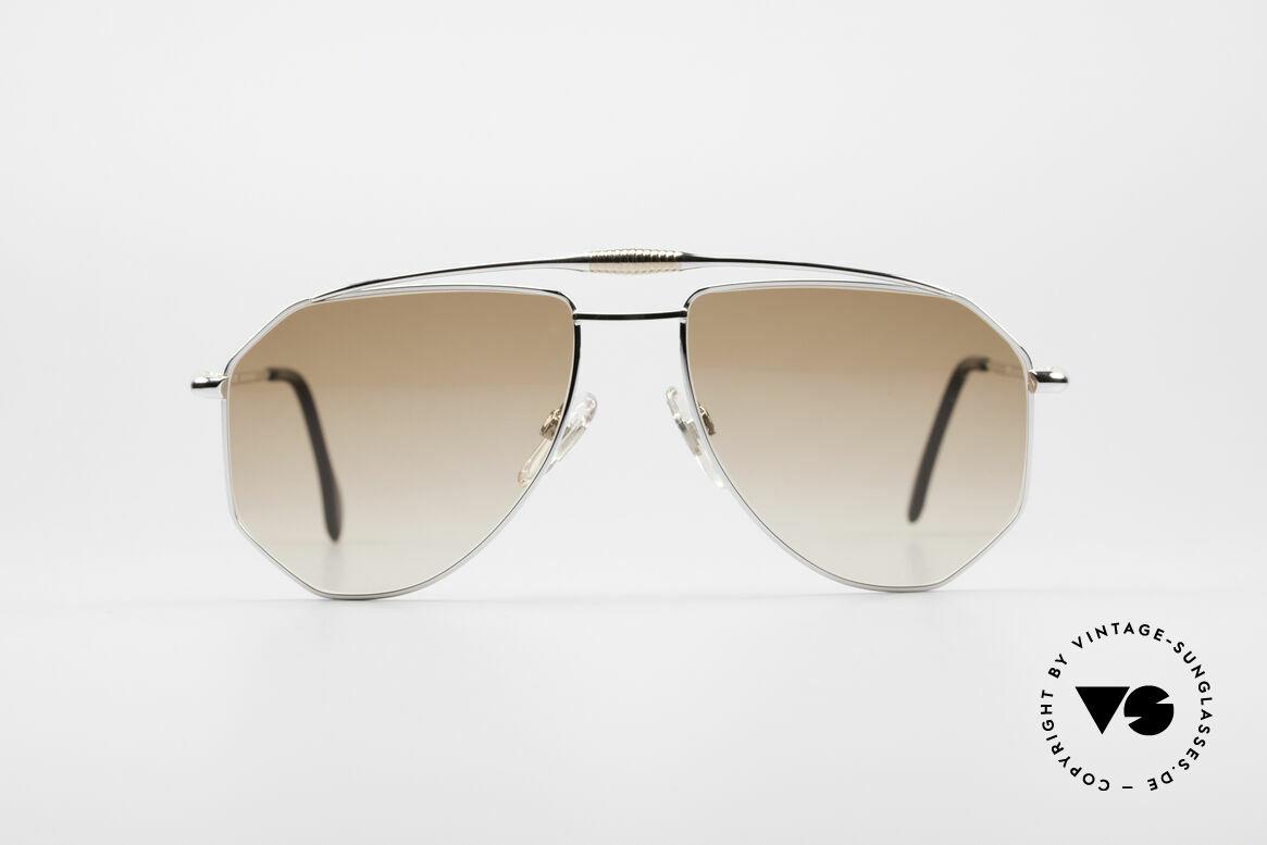 Zollitsch Cadre 120 Large 80er Sonnenbrille, markantes Herren-Modell in herausragender Qualität, Passend für Herren