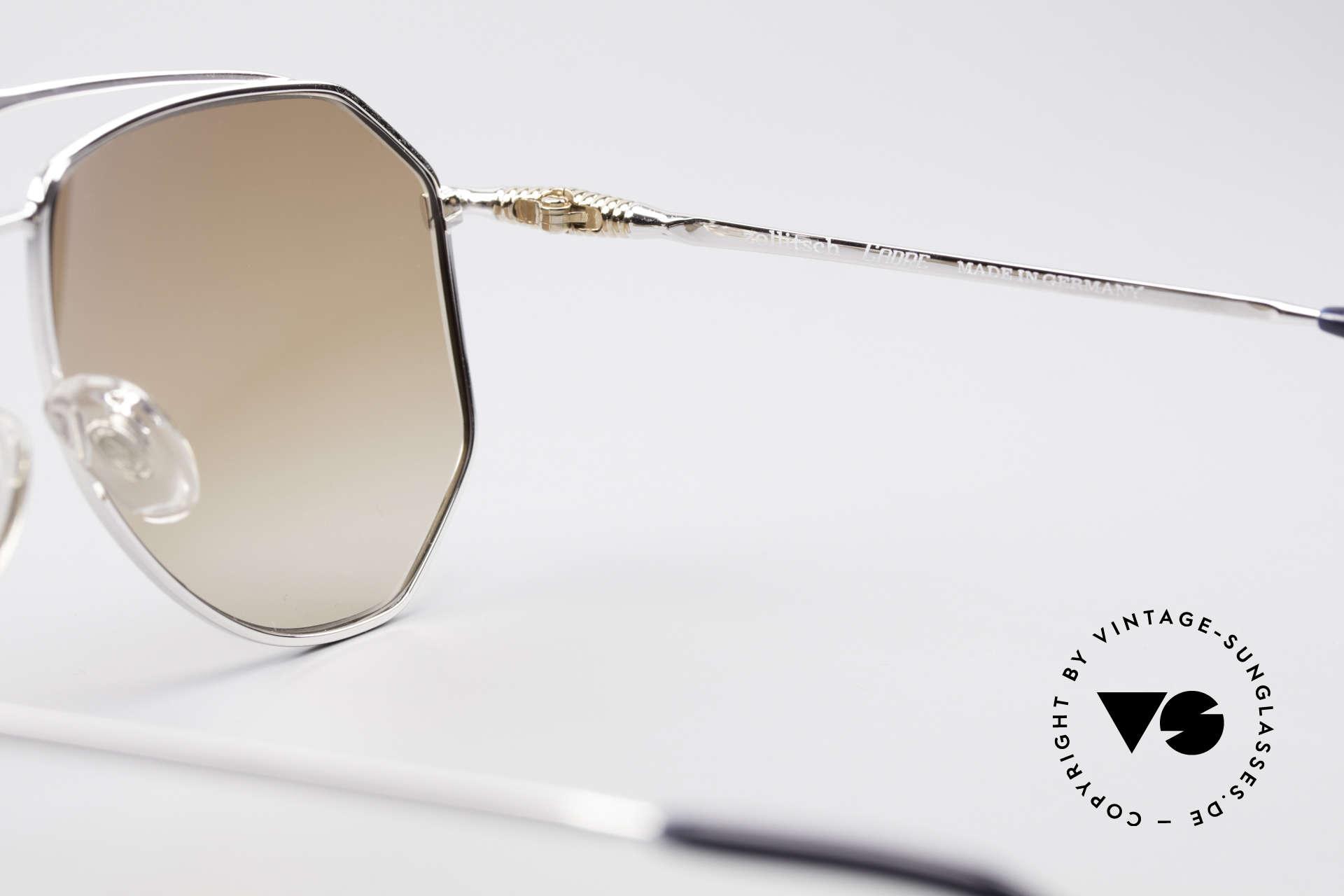 Zollitsch Cadre 120 Large 80er Sonnenbrille, Größe: large, Passend für Herren