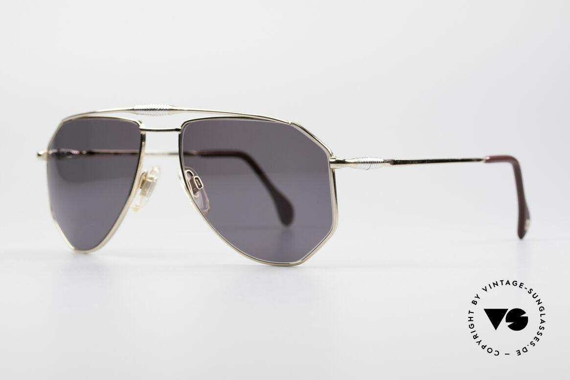 Zollitsch Cadre 120 Medium Aviator Sonnenbrille, interessante Alternative zur gewöhnlichen Pilotenform, Passend für Herren