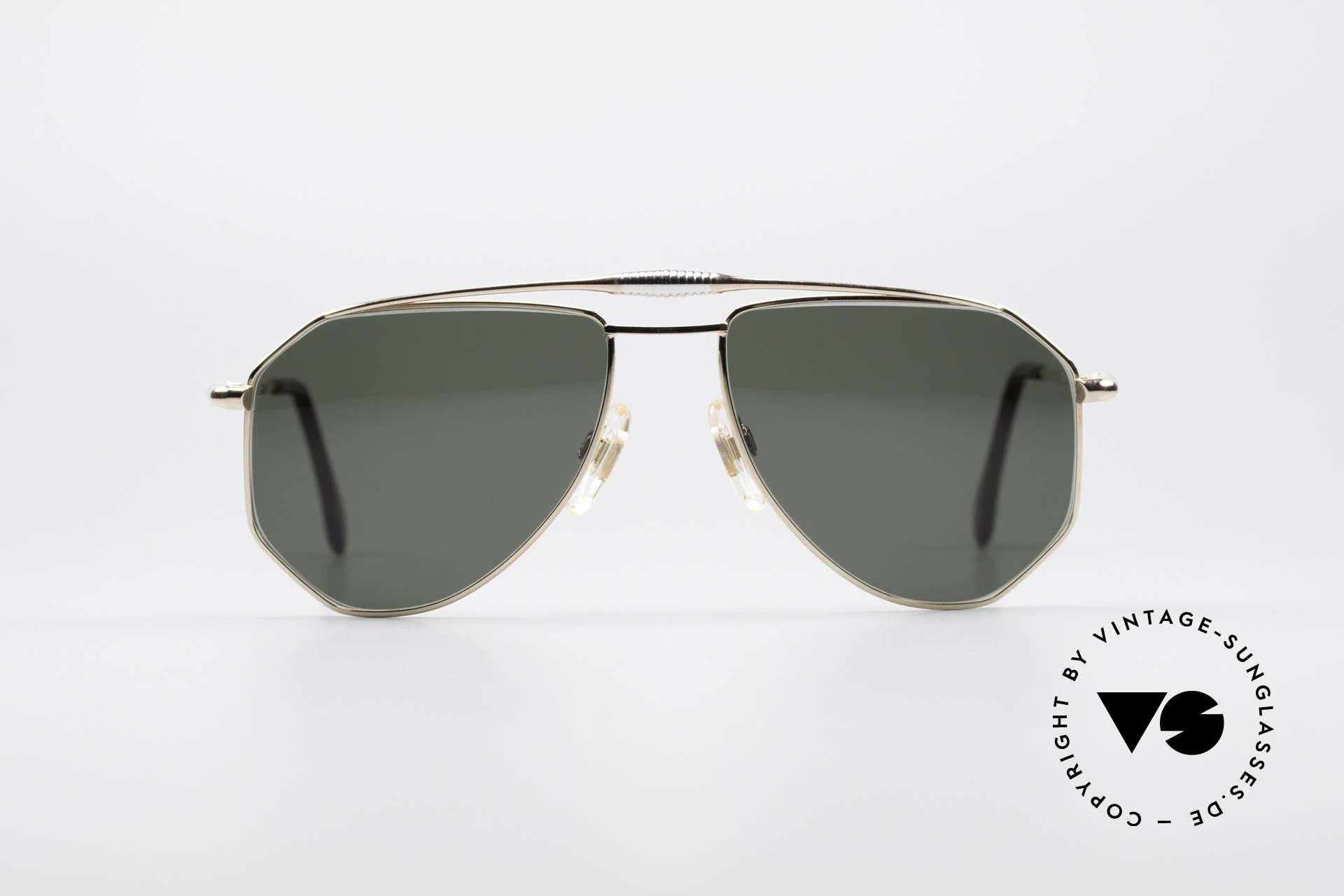 Zollitsch Cadre 120 Medium Piloten Sonnenbrille, markantes Herren-Modell in herausragender Qualität, Passend für Herren
