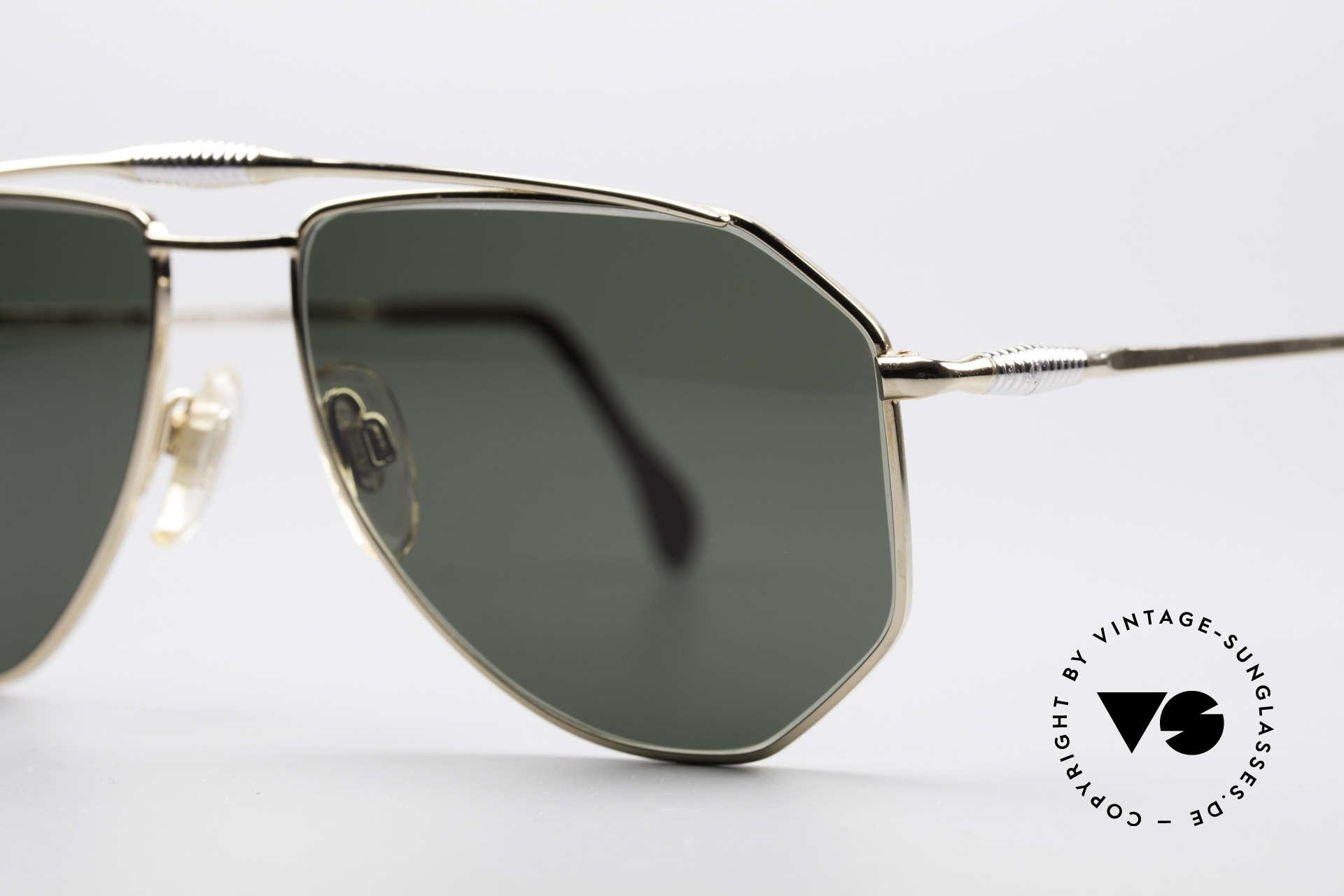 Zollitsch Cadre 120 Medium Piloten Sonnenbrille, ungetragen (wie alle unsere vintage Zollitsch Brillen), Passend für Herren