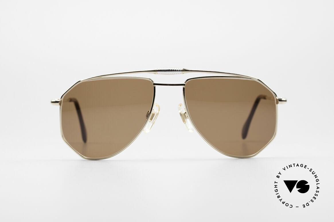 Zollitsch Cadre 120 Medium 80er Sonnenbrille, markantes Herren-Modell in herausragender Qualität, Passend für Herren
