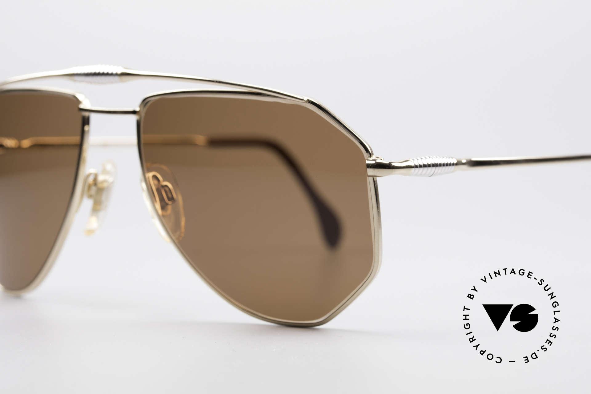 Zollitsch Cadre 120 Medium 80er Sonnenbrille, ungetragen (wie alle unsere vintage Zollitsch Brillen), Passend für Herren
