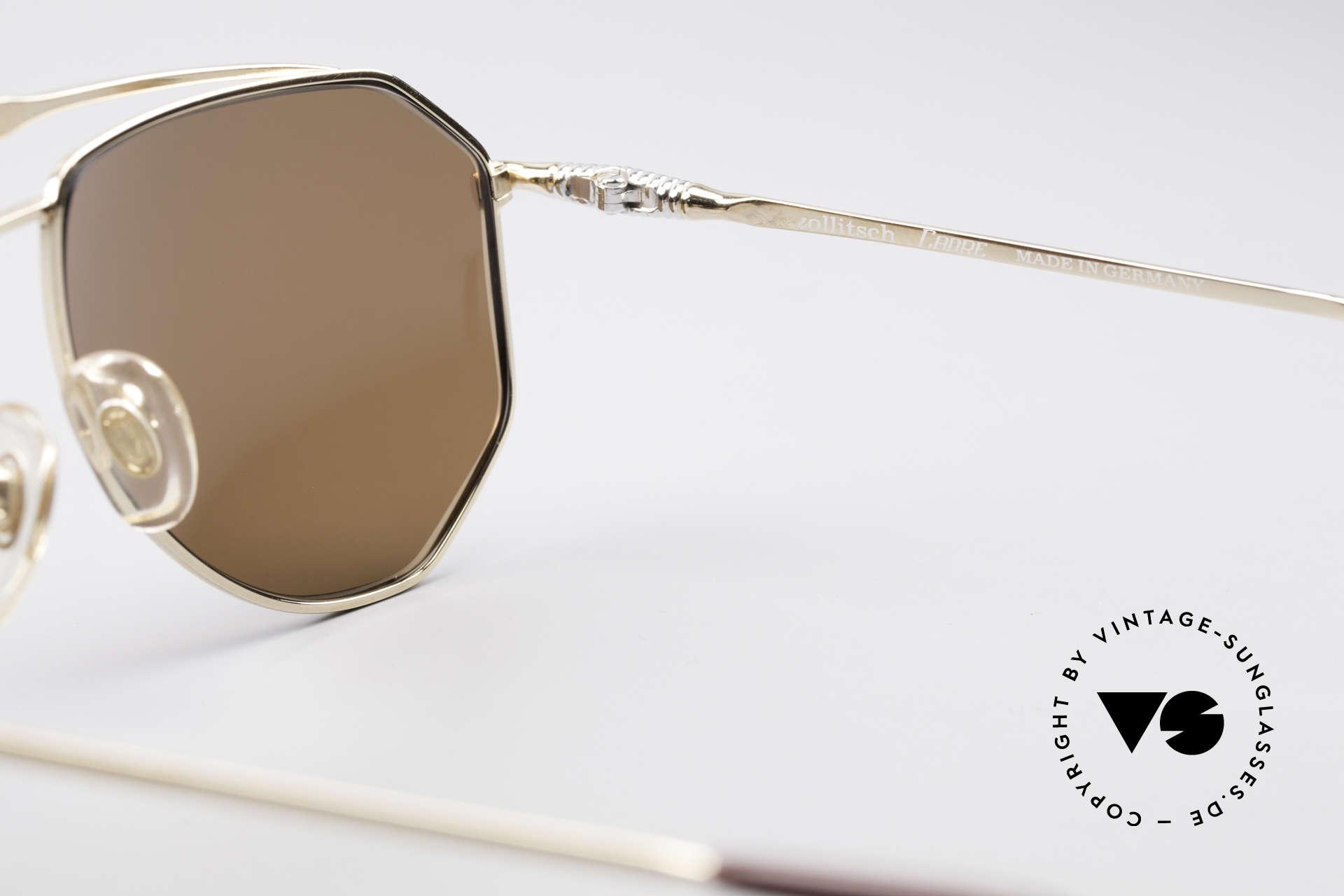 Zollitsch Cadre 120 Medium 80er Sonnenbrille, Größe: medium, Passend für Herren