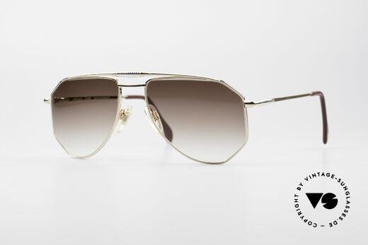 Zollitsch Cadre 120 Medium 80er Vintage Brille Details