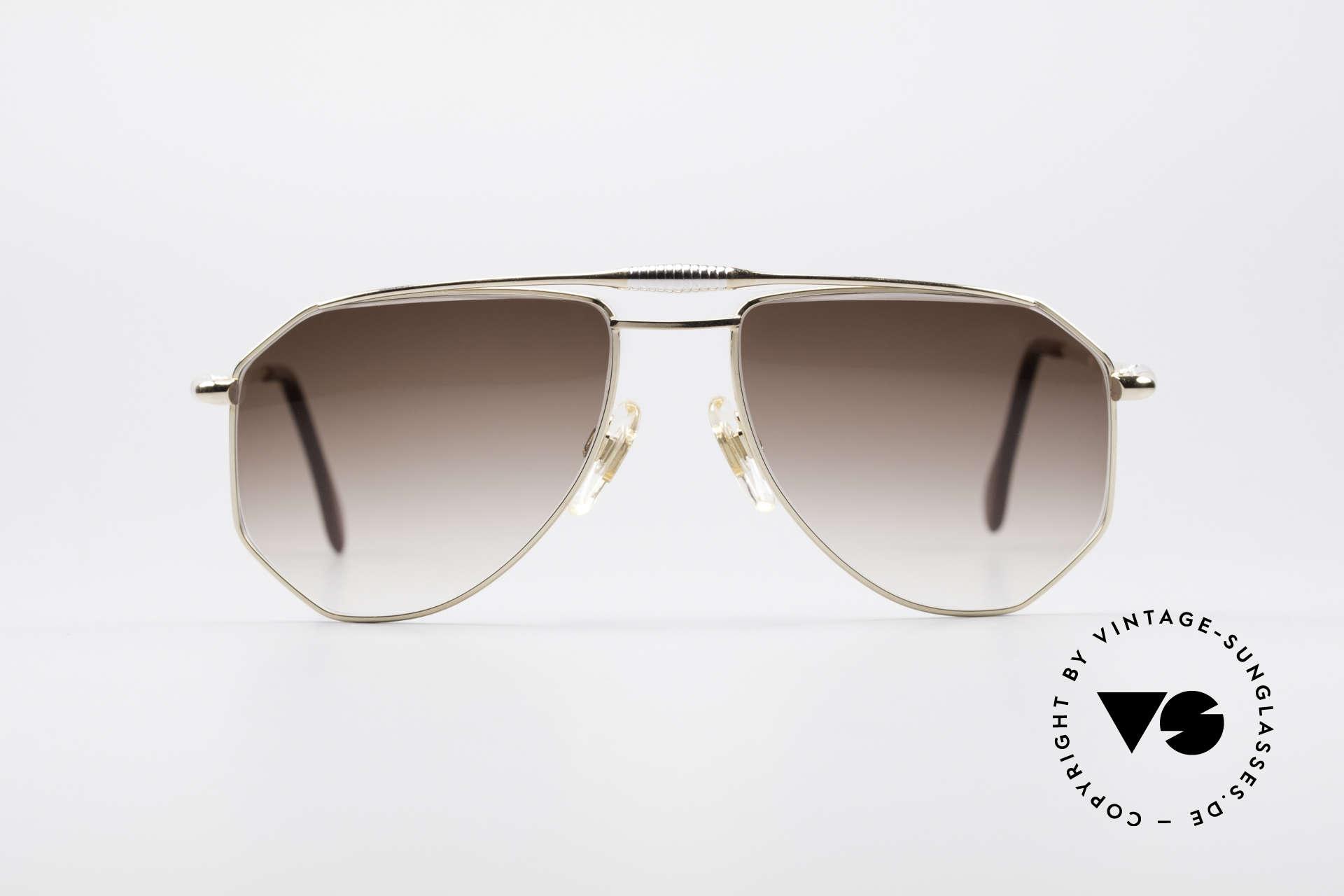 Zollitsch Cadre 120 Medium 80er Vintage Brille, markantes Herren-Modell in herausragender Qualität, Passend für Herren