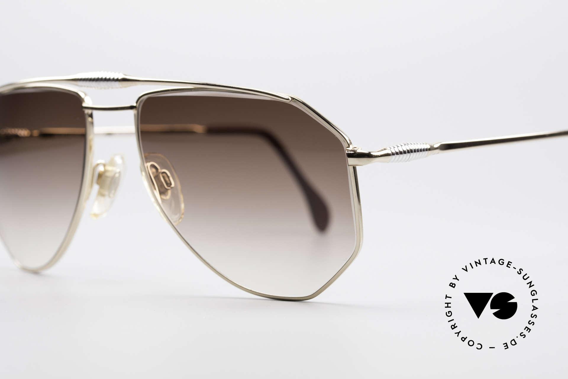 Zollitsch Cadre 120 Medium 80er Vintage Brille, ungetragen (wie alle unsere vintage Zollitsch Brillen), Passend für Herren