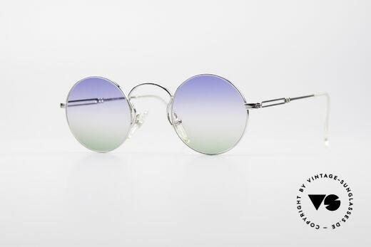 Jean Paul Gaultier 55-0172 Runde Designer Sonnenbrille Details