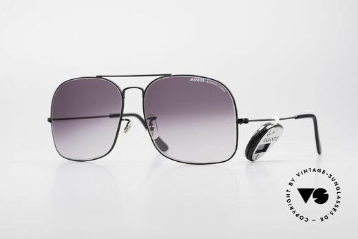 9515542ae22 Bausch   Lomb Mirage 80er USA Vintage Brille Details