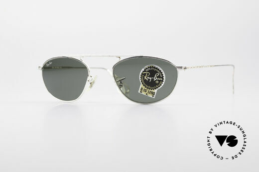 Ray Ban Modified Aviator Vintage B&L USA Brille Details