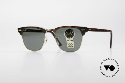 Ray Ban Clubmaster Bausch & Lomb USA Brille Details