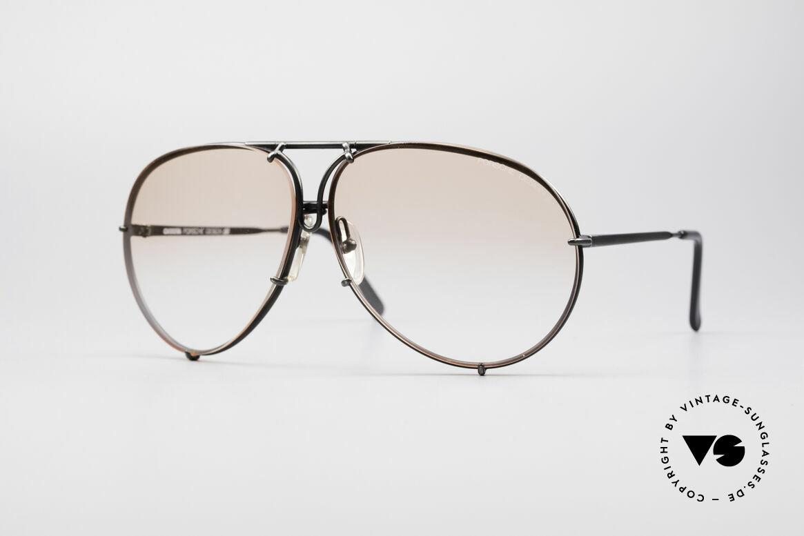 Porsche 5621 Seltene 80er XL Pilotenbrille, PORSCHE Design by Carrera Sonnenbrille von 1987, Passend für Herren