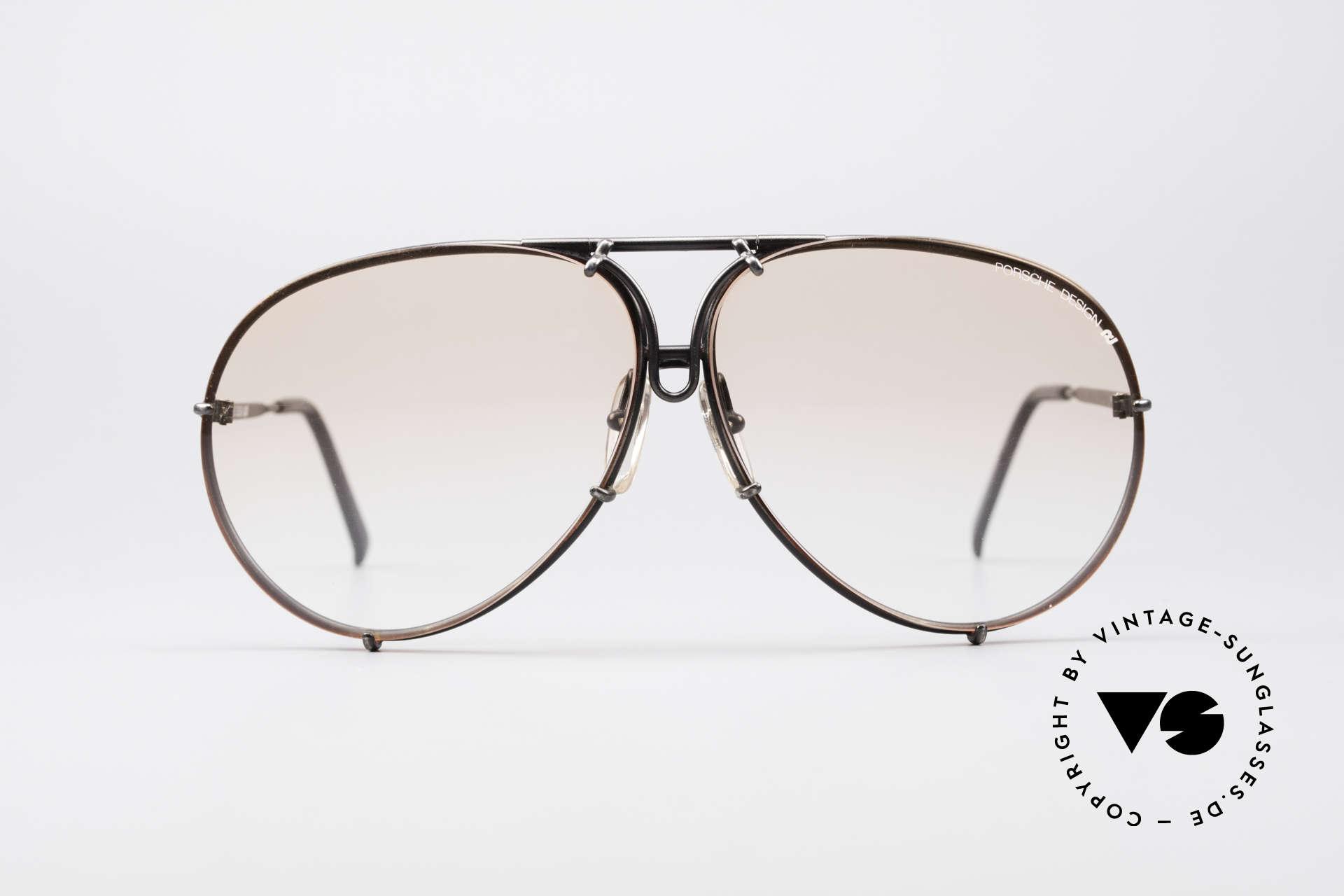 Porsche 5621 Seltene 80er XL Pilotenbrille, eines der meistgesuchten vintage Modelle; Rarität, Passend für Herren